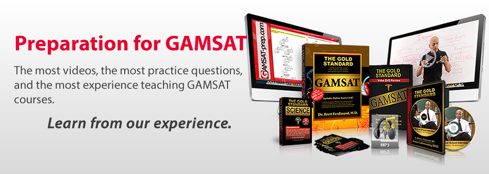 About The Gold Standard GAMSAT Prep