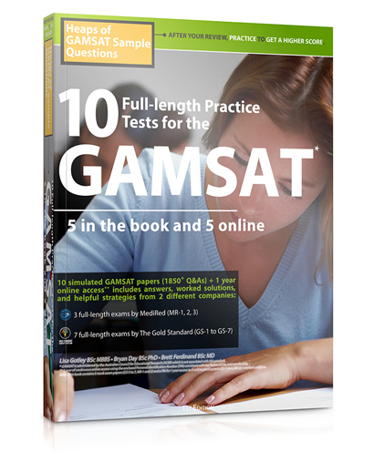 10 Full-length Practice Tests for the GAMSAT