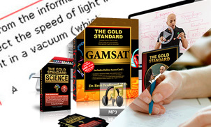 Gold Standard Complete GAMSAT UK Preparation Course