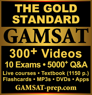 The Gold Standard GAMSAT 4000+ Q&A, Live Courses, Textbook, Videos, Flashcards, Apps, DVDs, Practice Tests